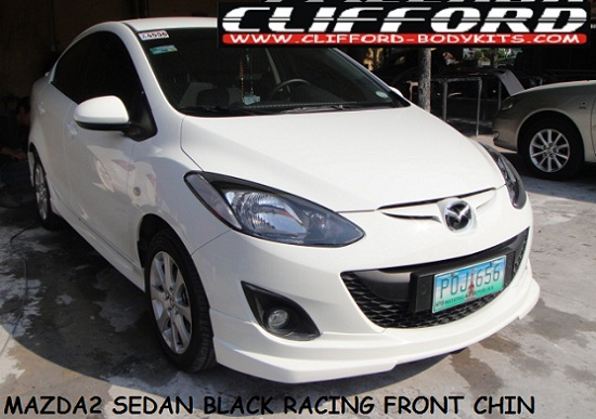 MAZDA 2 4DR BLACK RACING