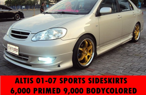 ALTIS 01-07 SPORTS BODYKIT