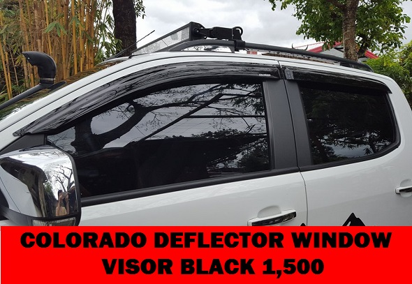COLORADO WINDOW VISOR