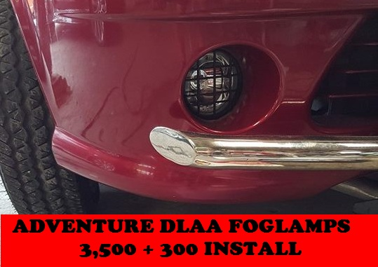 ADVENTURE DLAA FOGLAMPS