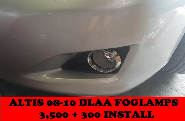 DLAA FOGLAMPS ALTIS 08-10