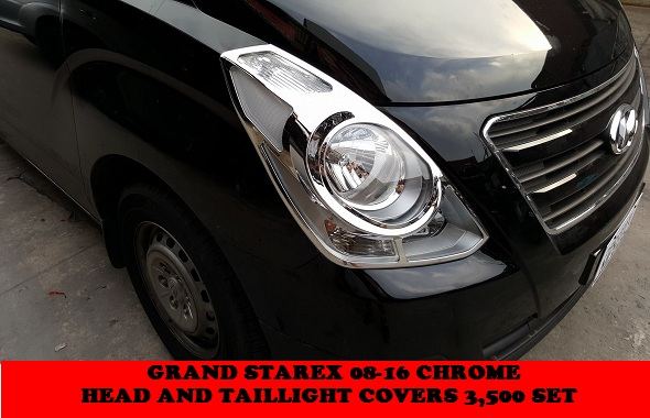 GRAND STAREX CHROME PARTS