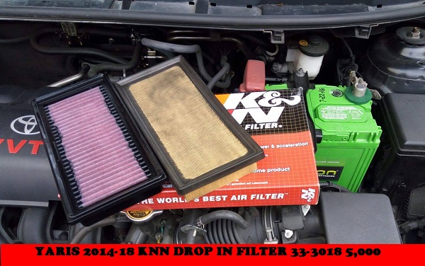 KNN DROP IN FILTER YARIS