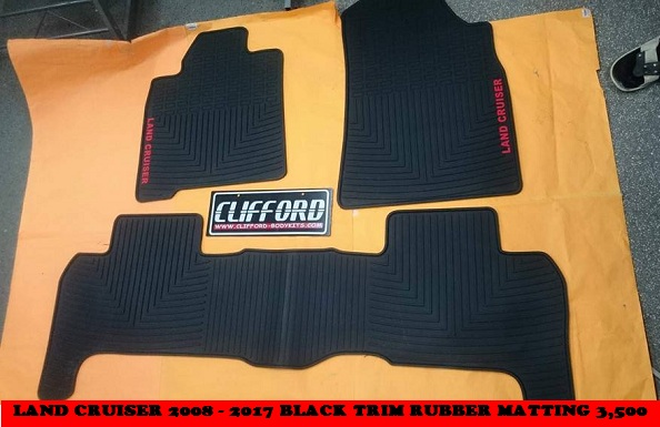 PREMIUM ANTI SLIP RUBBER MATTING LAND CRUISER