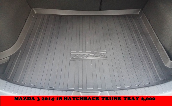 MAZDA 3 HATCH TRUNK TRAY 2,000