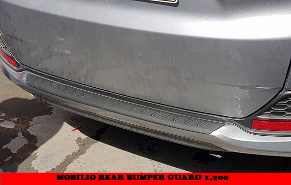 REAR BUMPER GUARD MOBILIO