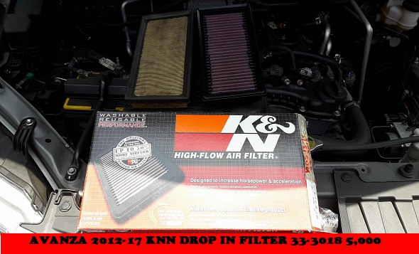 K&N DROP IN FILTER AVANZA 2012-2018