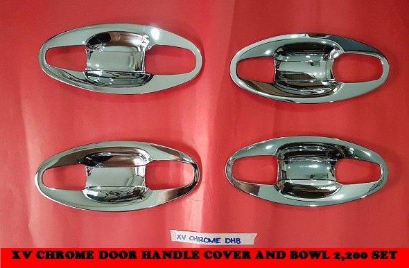XV CHROME DOOR HANDLE COVER AND BOWL 2,200 SET
