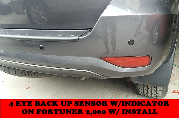 BACK UP SENSOR FORTUNER