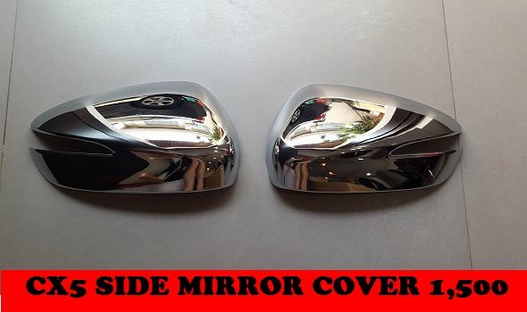 CHROME SIDE MIRROR COVER CX5
