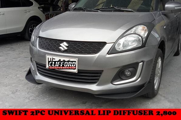 2PC LIP DIFFUSER ON SWIFT