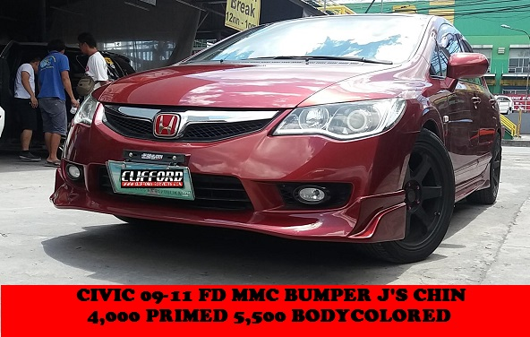 Js chin for MMC bumper CIVIC 06-11