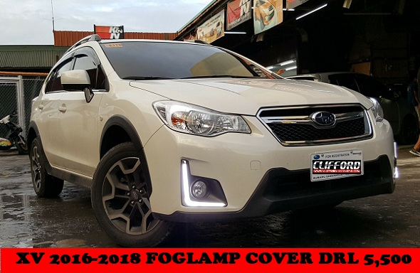 XV FOGLAMP COVER DRL 2016 MDL AND UP