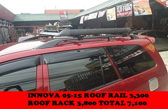INNOVA ROOF RAIL AND RACK