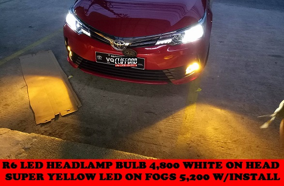 LED BULB UPGRADES ALTIS