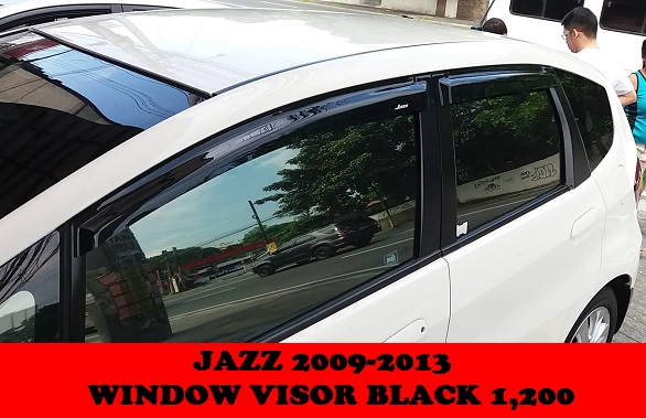 WINDOW VISOR JAZZ GE 08-13