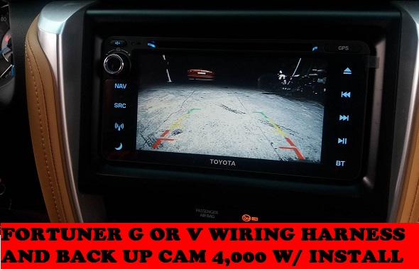 BACK UP CAM FORTUNER 2016-2018