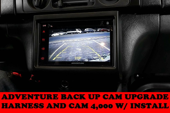 ADVENTURE BACK UP CAM UPGRADE