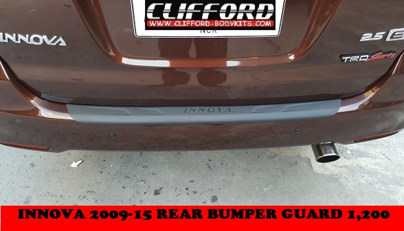 REAR BUMPER GUARD INNOVA