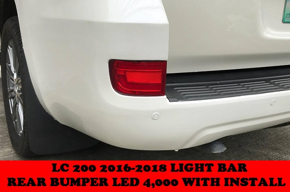 LC 200 REAR BUMPER LED