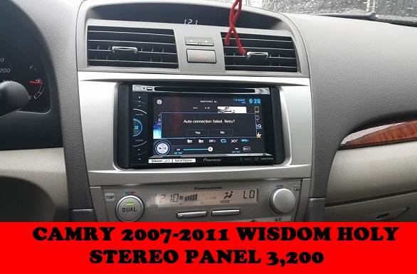 STEREO PANEL CAMRY 2007-2011