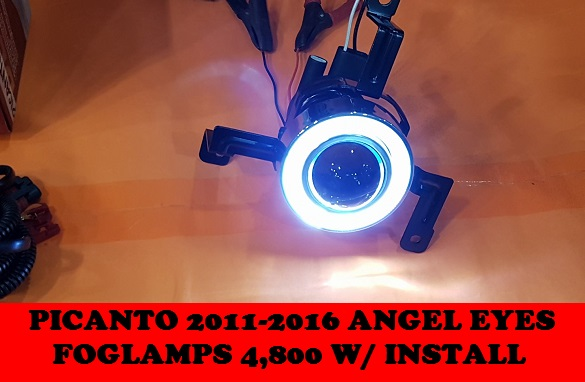 ANGEL EYES FOGLAMPS PICANTO 2011-2016