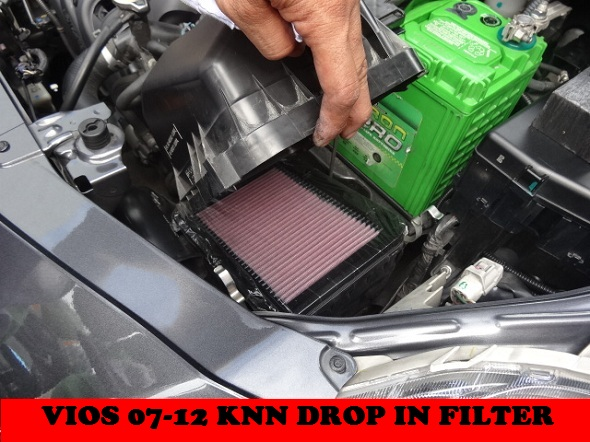 KNN DROP IN FILTER VIOS GEN2 2007-2012