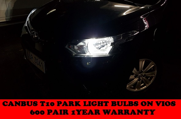 HIGH POWER LED PARK AND INTERIOR LED BULBS  VIOS GEN3