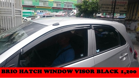 BRIO HATCH WINDOW VISOR