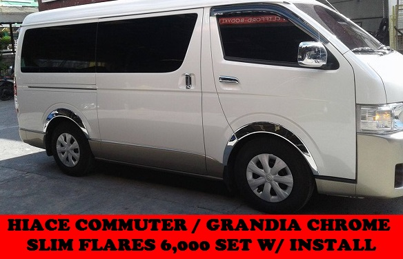 CHROME SLIM FLARES GRANDIA