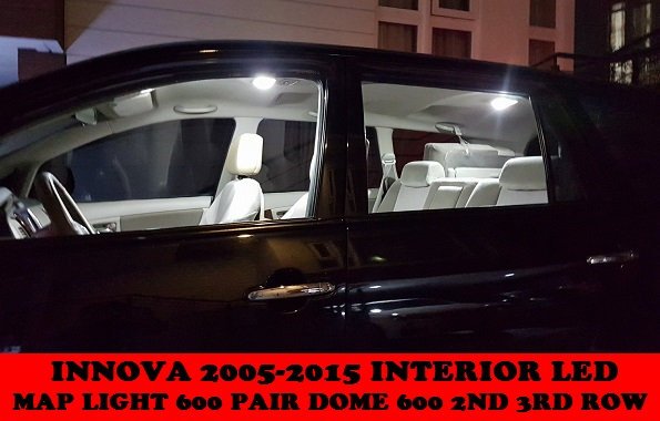 INTERIOR LED BULBS INNOVA 2005-2015