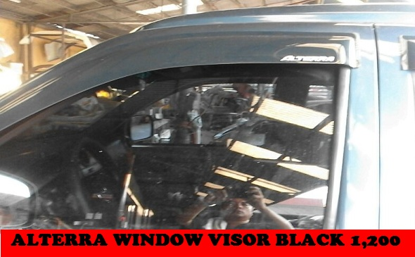 ALTERRA WINDOW VISOR