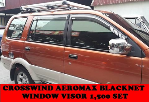 WINDOW VISOR CROSSWIND