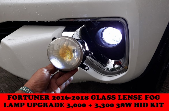 GLASS LENSE FOGLAMP UPGRADE