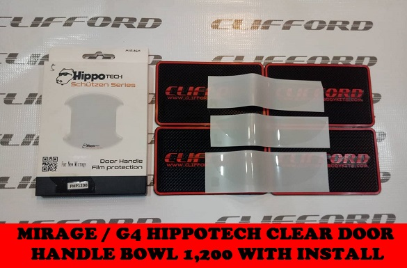 G4 HIPPOTECH CLEAR DOOR HANDLE BOWL