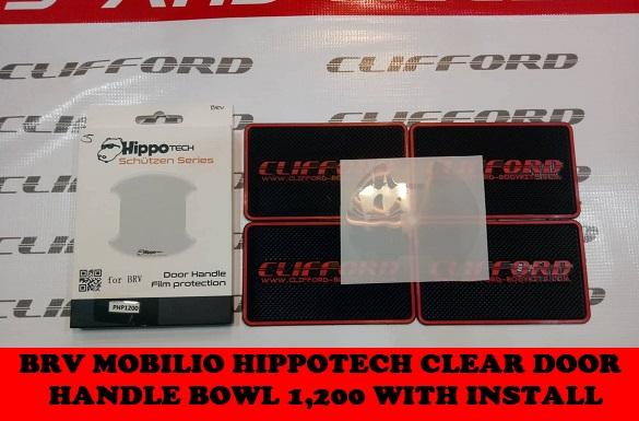 BRV HIPPOTECH CLEAR DOOR HANDLE BOWL