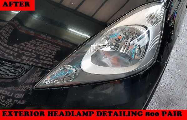 EXTERIOR HEADLAMP DETAILING JAZZ