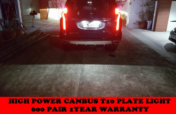 HIGH POWER LED PARK AND INTERIOR LED BULBS ON MONTERO