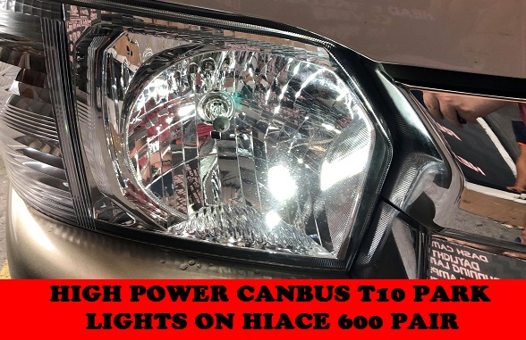 HIGH POWER LED LAMPS HIACE