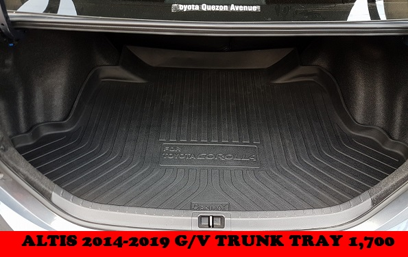 TRUNK TRAY ALTIS 2014-2019
