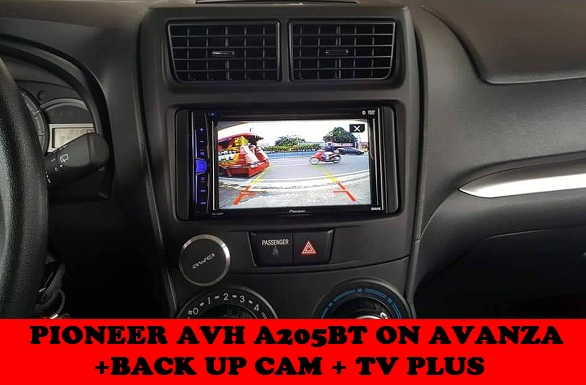 HEAD UNIT UPGRADE AVANZA
