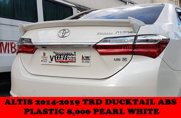 DUCKTAIL SPOILERS ALTIS 2014-2019
