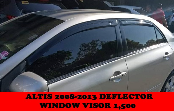 WINDOW VISOR ALTIS 2008-2013