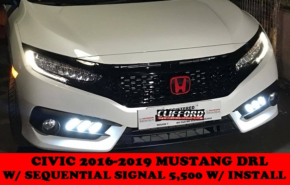 MUSTANG DRL CIVIC 2016-2019