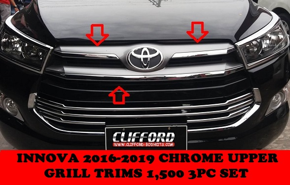 UPPER GRILL TRIMS INNOVA 2016-2019