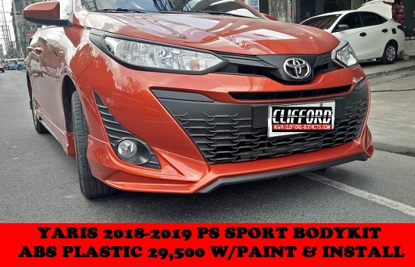 PS SPORT BODYKIT YARIS 2018-2020