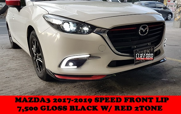 LIP KIT MAZDA3 HATCH 2017-2019