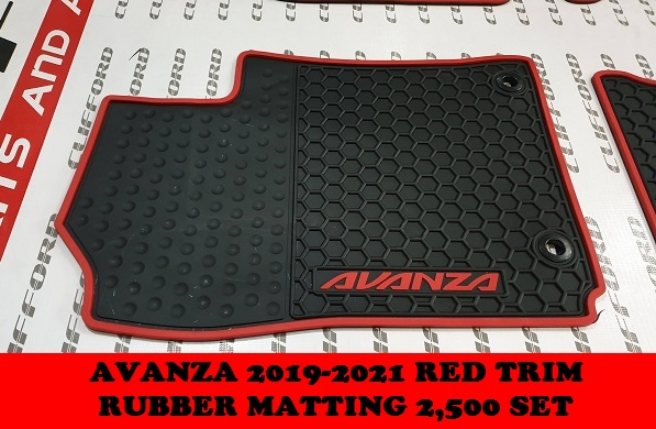RUBBER MATTING AVANZA 2019-2021
