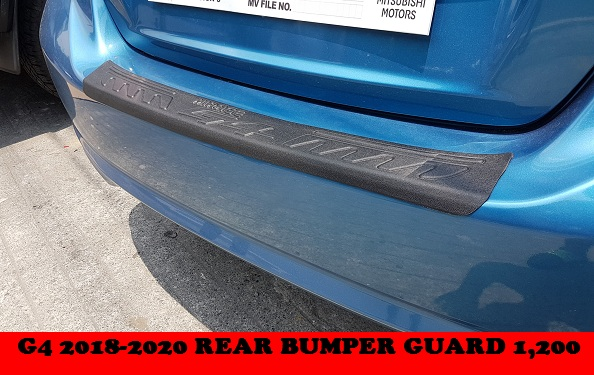 REAR BUMPER GUARD G4 2018-2020