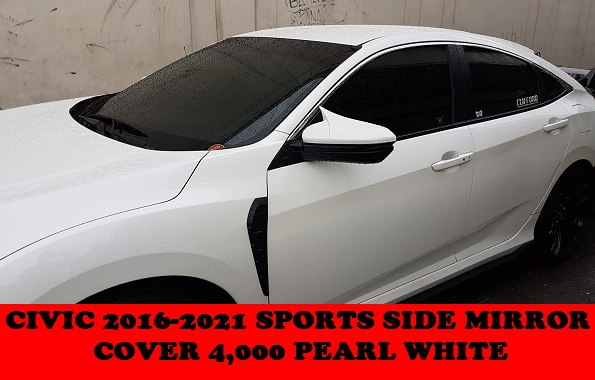 SPORTS SIDE MIRROR COVER CIVIC 2016-2021